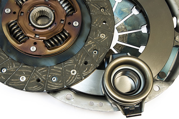 Photo of a cars clutch